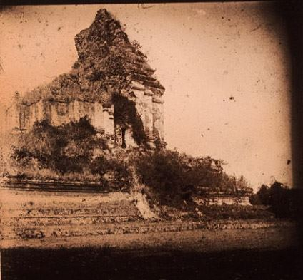 Old picture of Wat Chedi Luang