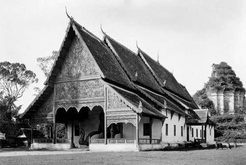 Wat Chedi Luang in 1934
