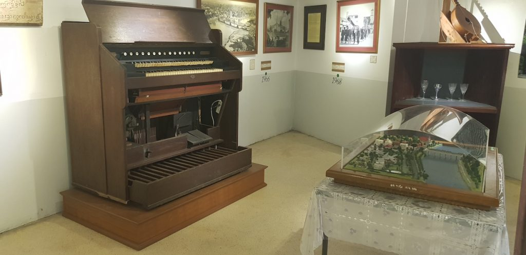 Museum with old organ