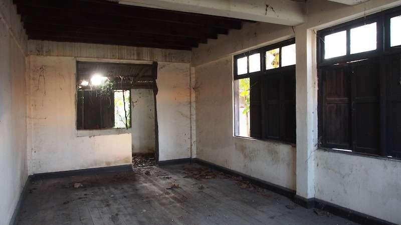 Empy abandoned room